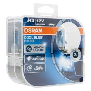 Lâmpada Osram H4 60/55W 2 Cool Blue Intense