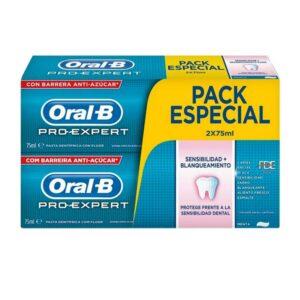 Pasta de Dentes Sensibilidade e Branqueamento Pro-expert Oral-B (2 uds)