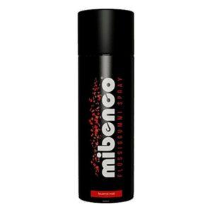 Spray Borracha Líquida Fácil de Remover para Carros Mibenco Vermelho 400 ml