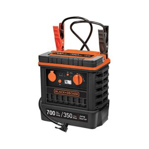 Arrancador Bateria Multiusos Black & Decker JS700TKCB + Compressor 350A