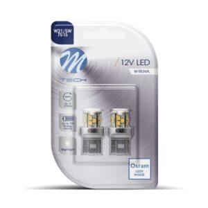 Lâmpada LED M-Tech W21 5W T20 12V