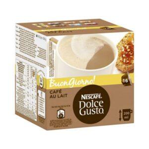 16 Cápsulas de café Nescafé Dolce Gusto 65835 Au Lait