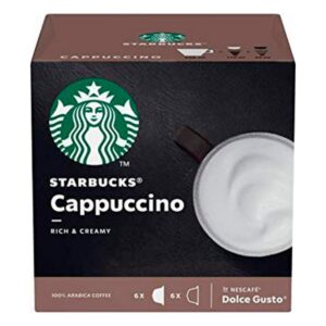 Cápsulas de café Starbucks Cappuccino (12 uds)