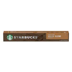 Cápsulas de café Starbucks House Blend (10 uds)