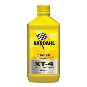 Óleo de Motor de Motocicleta Bardahl XT-4 SAE 10W 60 (1L)