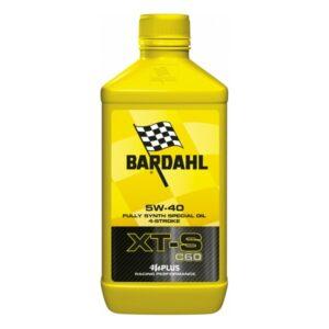 Óleo de Motor de Motocicleta Bardahl XT-S C60 SAE 5W 40 (1L)