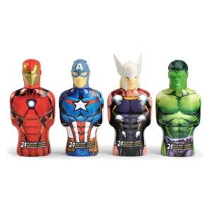Gel e Champô 2 em 1 Avengers Thor Cartoon (475 ml)