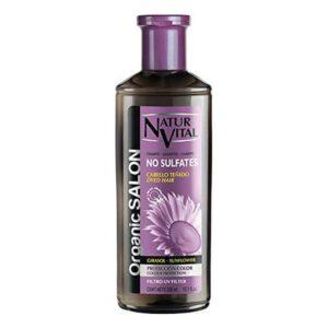 Champô para Cabelo Pintado Organic Salon Naturvital (300 ml)