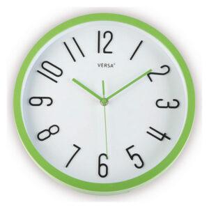 Relógio de Parede Plástico (4,6 x 30 x 30 cm) Verde
