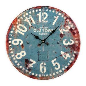 Relógio de Parede Old Town Metal