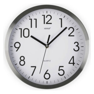 Relógio de Parede Alumínio (4,1 x 20 x 20 cm)