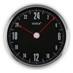 Relógio de Parede Alumínio (4,5 x 30 x 30 cm) Preto