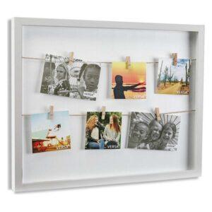 Porta-retratos Minimalista Madeira MDF (3,5 x 52,5 x 42,8 cm)