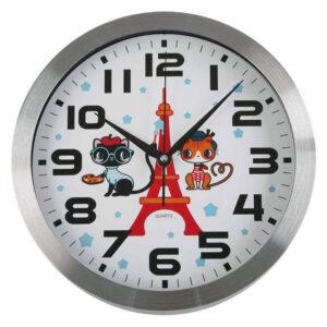 Relógio de Parede Paris Plástico (4 x 30 x 30 cm)
