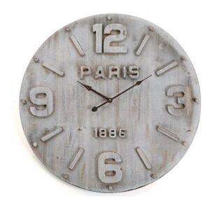 Relógio de Parede Madeira MDF/Metal (4,5 x 60 x 60 cm)