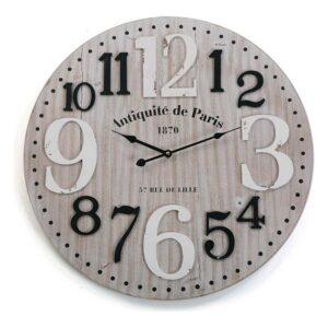 Relógio de Parede Madeira MDF (4,5 x 60 x 60 cm)