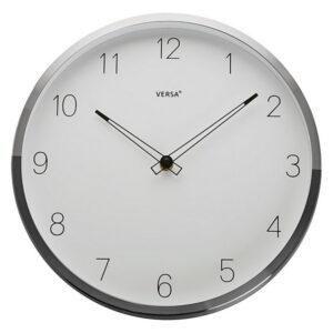 Relógio de Parede Alumínio (4,3 x 30 x 30 cm)