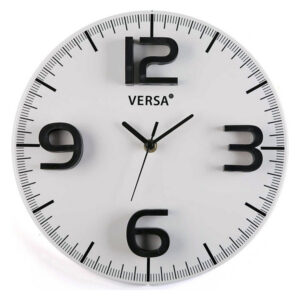 Relógio de Parede Plástico (4 x 28,5 x 28,5 cm)