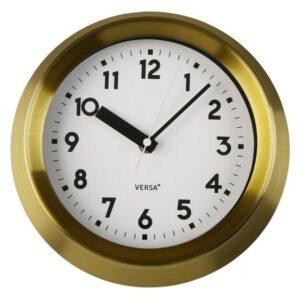 Relógio de Parede Metal (6,5 x 21,5 x 21,5 cm)