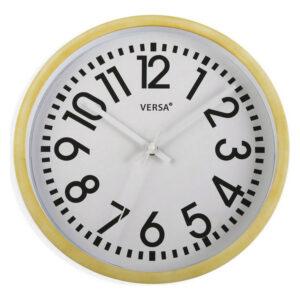 Relógio de Parede Plástico (4 x 30,5 x 30,5 cm)