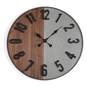 Relógio de Parede Madeira MDF/Metal (5 x 60 x 60 cm)