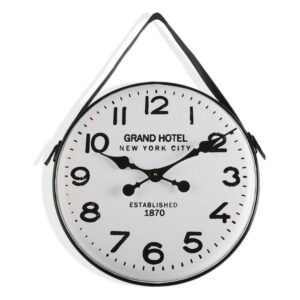 Relógio de Parede Gran Hotel Metal (5 x 40 x 40 cm)