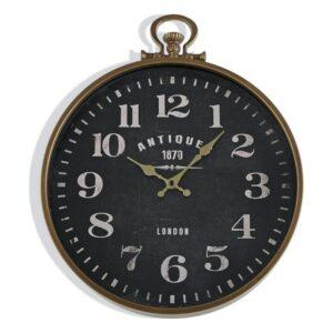 Relógio de Parede Antiques Metal Madeira MDF (6 x 49,5 x 40 cm)
