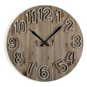Relógio de Parede Clement Madeira MDF (60 x 6 x 60 cm)