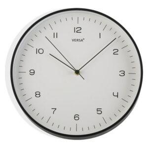 Relógio de Parede Plástico (4,5 x 31,5 x 31,5 cm) Preto