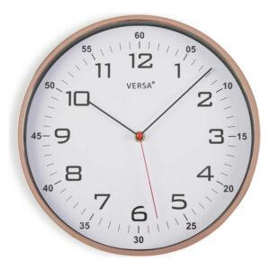 Relógio de Parede Plástico (4,5 x 30,5 x 30,5 cm) Cobre