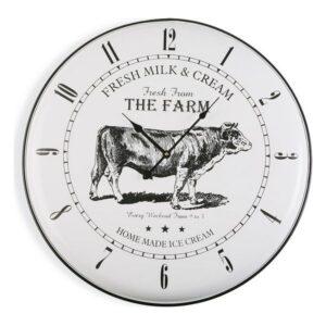 Relógio de Parede Madeira MDF/Metal (5 x 61,5 x 61,5 cm)