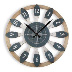 Relógio de Parede Madeira MDF (60 x 4,5 x 60 cm)