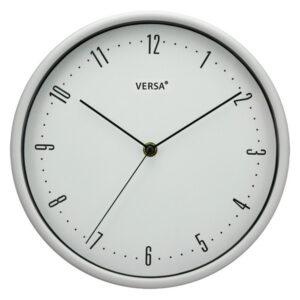 Relógio de Parede Plástico (4,5 x 25 x 25 cm) Branco