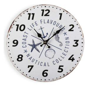 Relógio de Parede Nautical Madeira (4 x 30 x 30 cm)