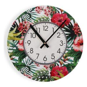Relógio de Parede Ayanna Madeira (4 x 30 x 30 cm)