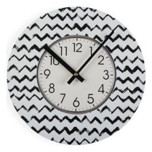 Relógio de Parede Lauren Madeira (4 x 30 x 30 cm)