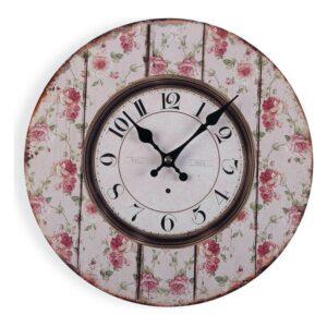 Relógio de Parede 1870 Madeira (4 x 30 x 30 cm)