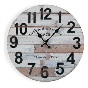 Relógio de Parede Madeira (4 x 30 x 30 cm)