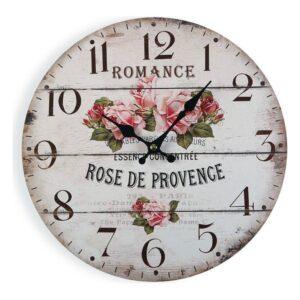 Relógio de Parede Romance Madeira (4 x 30 x 30 cm)