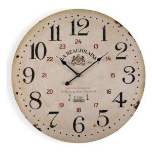 Relógio de Parede Beaujolaise Madeira (3 x 58 x 58 cm)