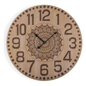 Relógio de Parede Mandala Madeira (3 x 58 x 58 cm)