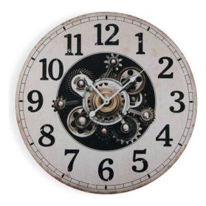 Relógio de Parede Madeira (3 x 58 x 58 cm)