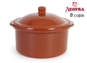 Tacho Azofra Cocote Barro cozido 25 cm