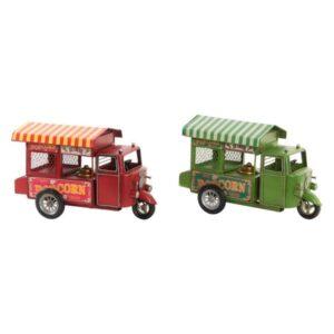 2 Veículos Dekodonia Popcorn Vintage  (32 x 14 x 22 cm)