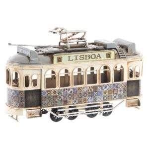 Fabricado à Mão - Veículo Dekodonia Lisboa Vintage (20 x 7 x 15 cm)