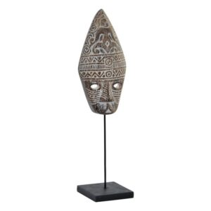 Figura Decorativa Dekodonia Metal Máscara