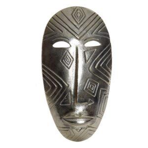 Decoração de Parede Dekodonia Alumínio Colonial Máscara