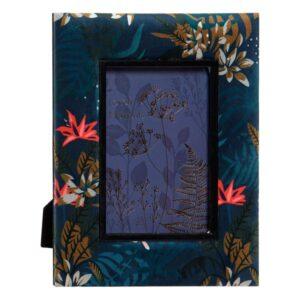 Moldura de Fotos Dekodonia Madeira Poliéster (13 x 18 cm) ((ø 21,5 cm))