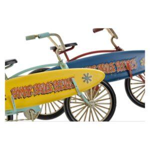 Fabricado à Mão - 2 Veículos Dekodonia Decoração Vintage Bicicleta (21 x 8 x 13 cm)