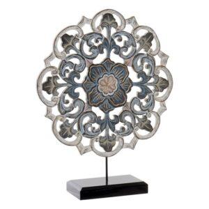 Figura Decorativa Dekodonia Metal (40 x 10 x 50 cm)